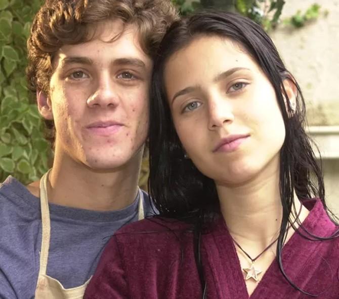 Zezinho (Leonardo Miggiorin) e Anita (Mel Lisboa) (Foto: CEDOC / TV Globo)