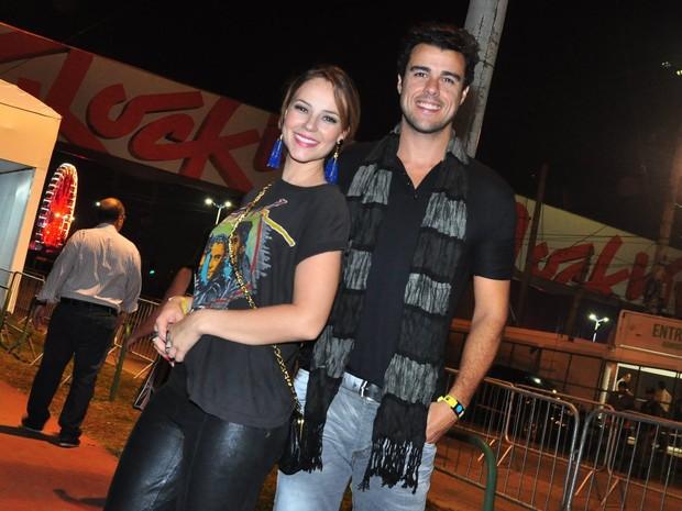 Paolla Oliveira e Joaquim Lopes (Foto: Roberto Teixeira / EGO)