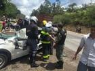 BH - 14h20: Veículos se envolvem em acidente na BR - 040