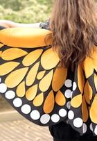 Aprenda a fazer fantasia de carnaval tipo asas de borboleta e arrase na folia