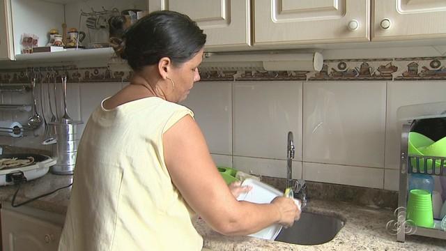 Profissionais optam por carteira assinada ou diárias (Foto: Amazônia TV)