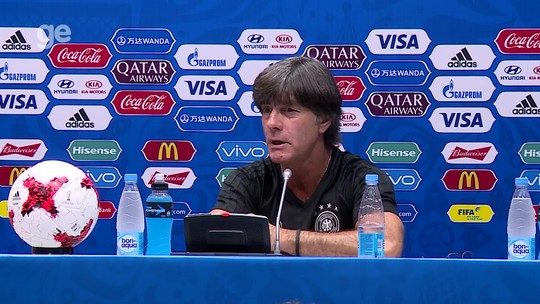 """7 a 1? Löw vê Brasil consolidado e diz: """"É sempre favorito na Copa"""""""