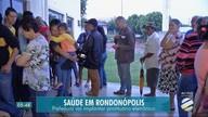 Fila no atendimento de saúde em Rondonópolis