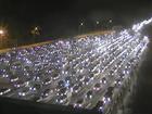 Após dia de fluxo intenso, freeway tem final de noite tranquilo no RS
