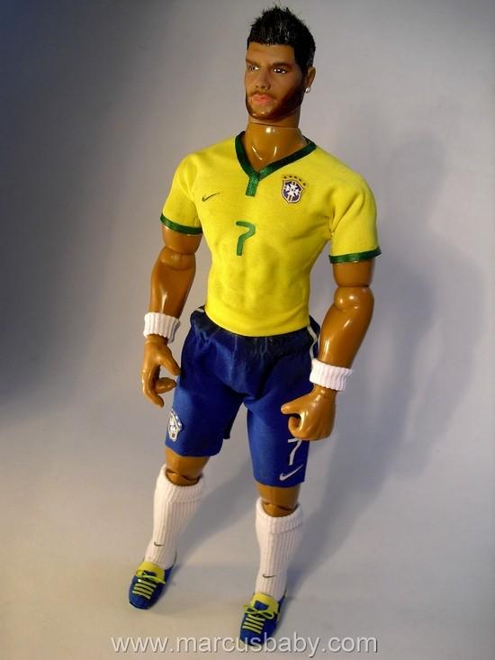 Boneco do jogador Hulk (Foto: Divulgação)