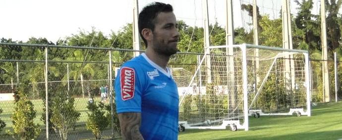 Ariel Cabral; Cruzeiro (Foto: Gustavo Aleixo)