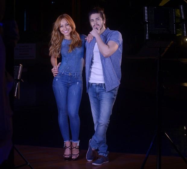 Sabrina Sato e Luan Santana (Foto: Francisco Cepeda/ AgNews)