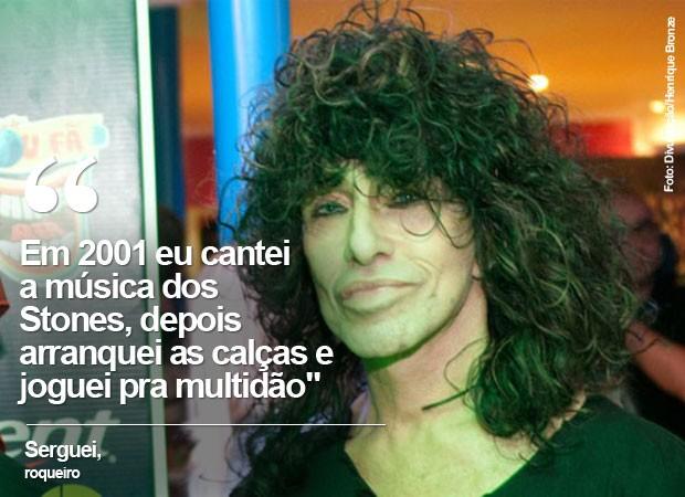 Veterano de festivais, Serguei lamenta estar de fora do Rock in Rio (Foto: Divulgação/Henrique Bronze)