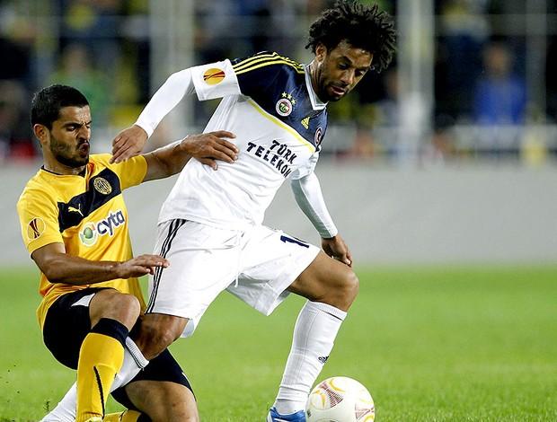 Cristian na partida do Fenerbahçe  (Foto: EFE)