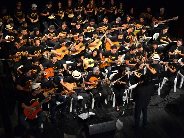 Choro do Pará forma a nova geração de instrumentistas de choro e samba (Foto: Divulgação)