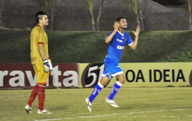 Bruno Maia gol Avaí x América-RN (Foto: Frankie Marcone / Ag. Estado)