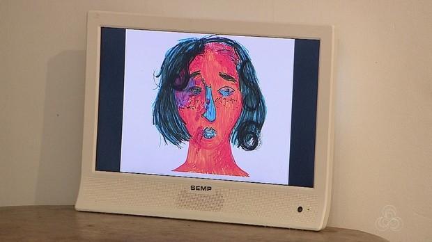 arte contemporanea, exposição, veiga cabral, amapá tv, amapá (Foto: Bom Dia Amazônia)