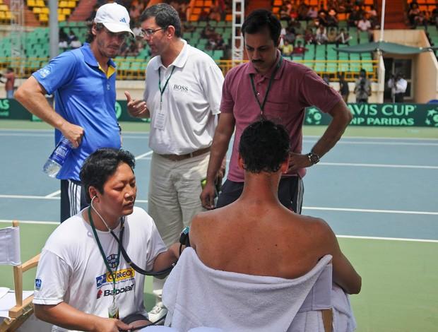 Thomaz Bellucci tênis Copa Davis Índia (Foto: Divulgação / Marcelo Ruschel)