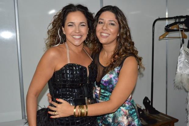 Daniela Mercury e Malu Verçosa (Foto: Felipe Souto Maior / AgNews)