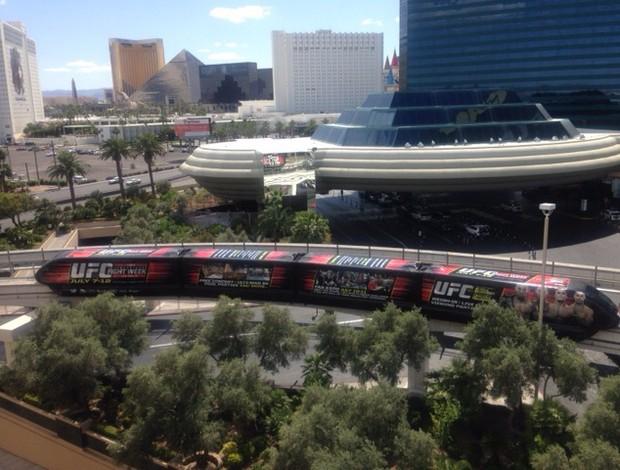 Monorail Las Vegas UFC International Fight Week