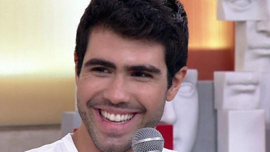 Juliano Laham se derrete por Juliana Paiva: 'A primeira vez que a vi falei: 'vou namorar com ela''