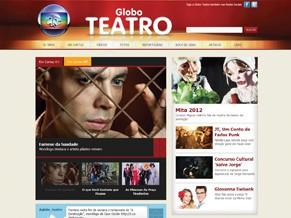 Site do Globo Teatro (Foto: Divulgação Rede Globo)