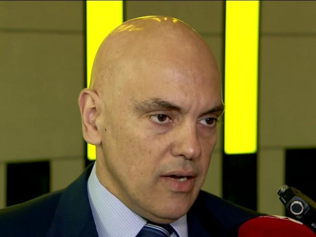Alexandre de Moraes (Foto: reprodução GloboNews)