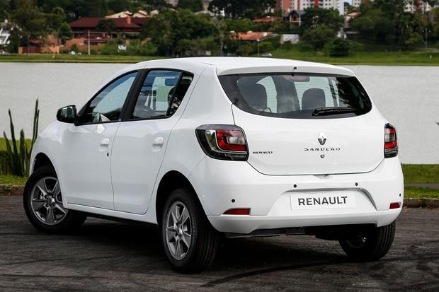 Renault Sandero Vibe (Foto: Divulgação)