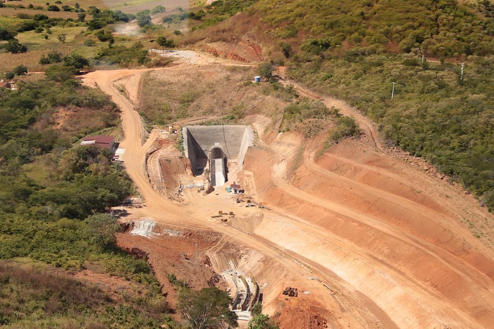 Governo do Ceará inaugura Túnel Veneza, maior obra do Cinturão das Águas. (Foto: Nívia Uchôa / Divulgação Governo do Ceará)
