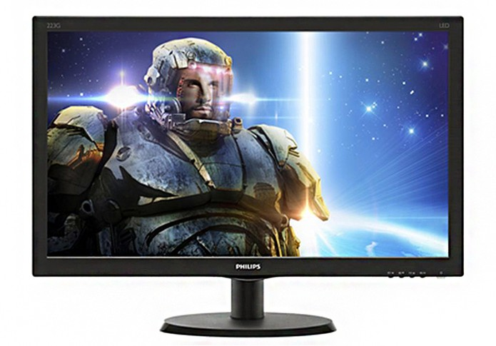 Monitor gamer da Philips oferece resolução Full HD (Foto: Divulgação/Philips)