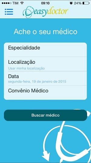 Menu do aplicativo é simples de ser usado (Foto: Arquivo Pessoal/Leonardo Brêda)
