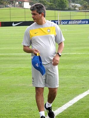 ney franco brasil sub 20 treino (Foto: Márcio Iannacca / Globoesporte.com)