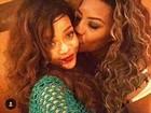 Ludmilla parabeniza Rihanna: 'Miga, sua louca, estou com saudades'