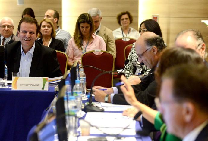 Eduardo Paes reunião do COI (Foto: J.P.Engelbrecht)