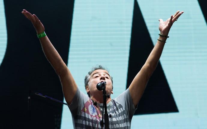 Nasi comanda o show do Ira! nos 15 anos do João Rock (Foto: Érico Andrade/Gshow)