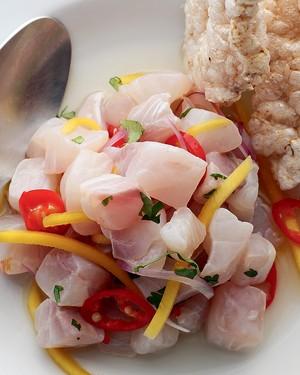 Ceviche thai   (Foto: Rogério Voltan/Casa e Comida)