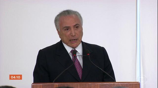 Temer e presidentes de outros poderes da República repudiam ataque a Bolsonaro