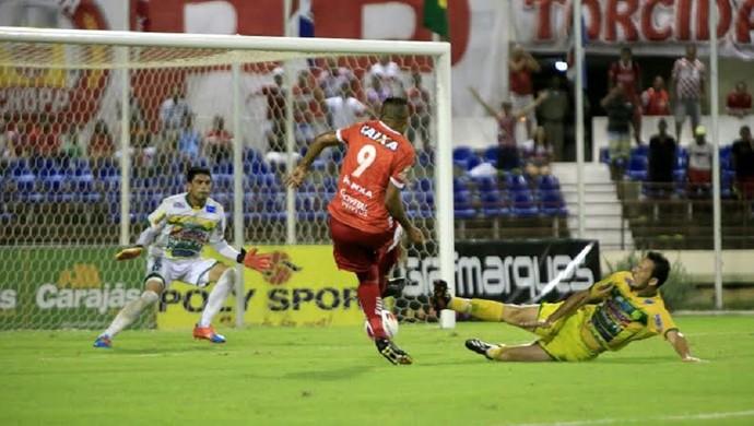 CRB x Ipanema, no Rei Pelé (Foto: Ailton Cruz/ Gazeta de Alagoas)