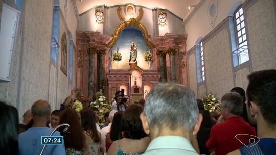 Igreja do Rosário é inaugurada na Prainha em Vila Velha, ES