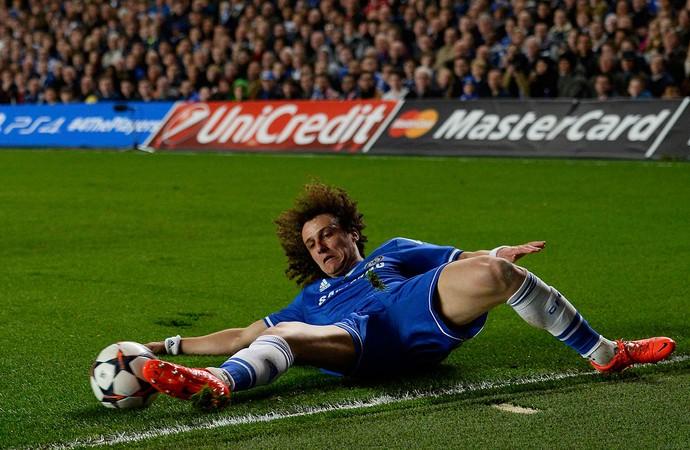David Luiz Chelsea x PSG (Foto: Reutes)
