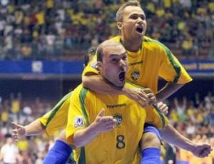 Marquinho anunca aposentadoria do futsal seleção brasileira campeão mundial em 2008  (Foto: Divulgação/CBFS)