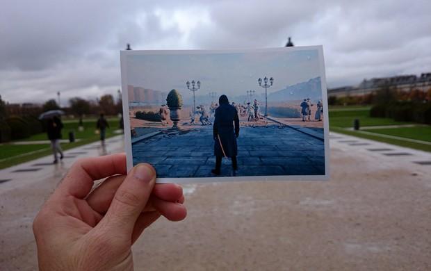 Palácio de Versalhes ganha comparação com versão do game 'Assassin's Creed Unity' (Foto: Arquivo Pessoal/Damien Hypolite)