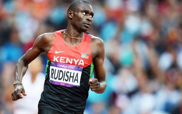 David Rudisha, Atletismo, 800 m (Foto: Agência AFP)