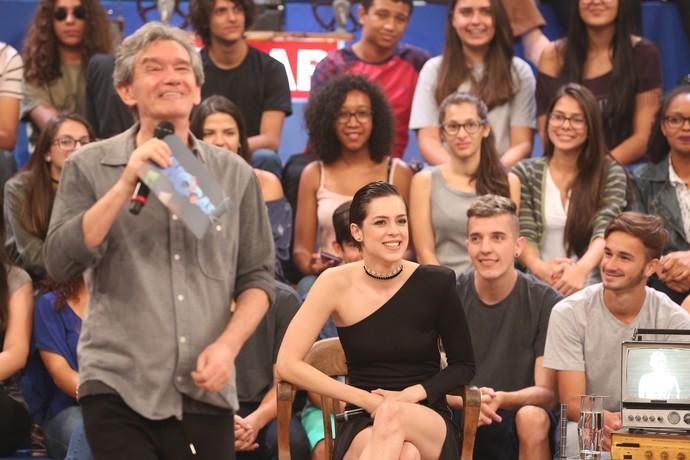O programa também contará com Sophia Abrahão  (Foto: Carol Caminha/Gshow )