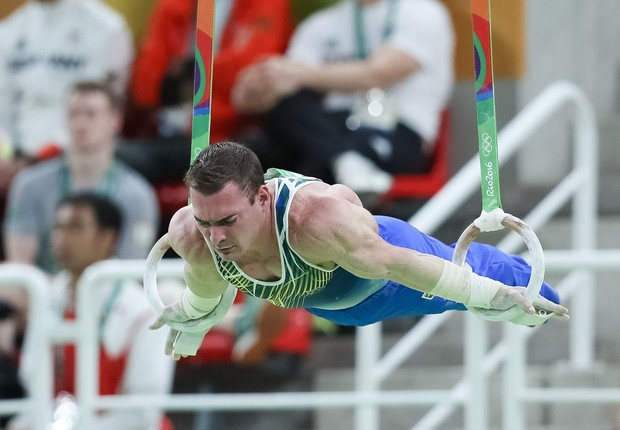 O ginasta brasileira Arthur Zanetti conquistou medalha de prata nas argolas na Rio 2016 (Foto: Ricardo Bufolin/CBG)