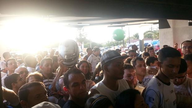 torcedores Barrados ABC x Palmeiras (Foto: Marcelo Hazan)
