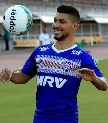 yuri; yuri bahia (Foto: Felipe Oliveira/Divulgação/EC Bahia)