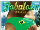 Revista britânica polemiza com close do bumbum de Rô Fraga na capa