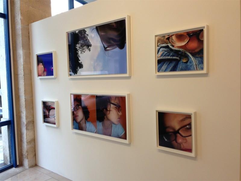 Na MEP, os auto-retratos da jovem fotógrafa de 18 anos Sarah N (Foto: Isabel Junqueira)