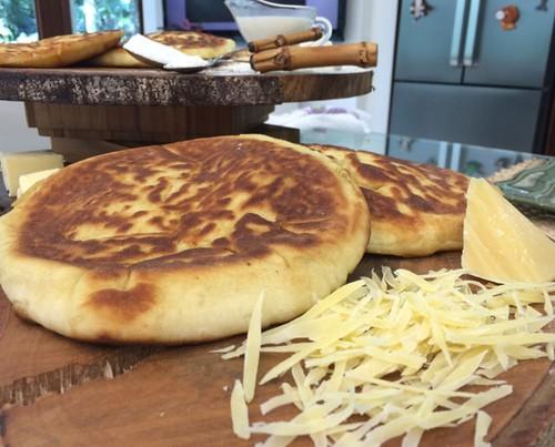 Pão Indiano De Frigideira - Khachapuri