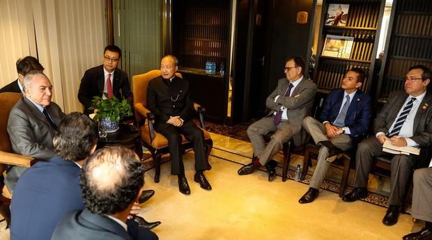 Michel Temer está na China com a missão de atrair investimentos para o Brasil (Foto: Agência Brasil)