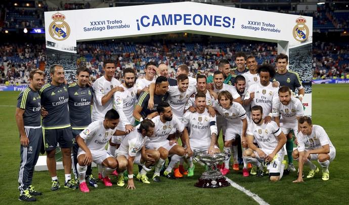 Real Madrid Troféu Santiago Bernabéu (Foto: Reuters)