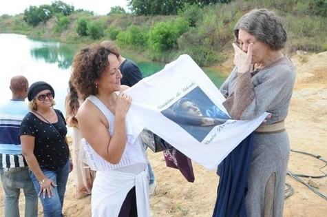 Denise Del Vecchio (Foto: Munir Chatack/TV Record)