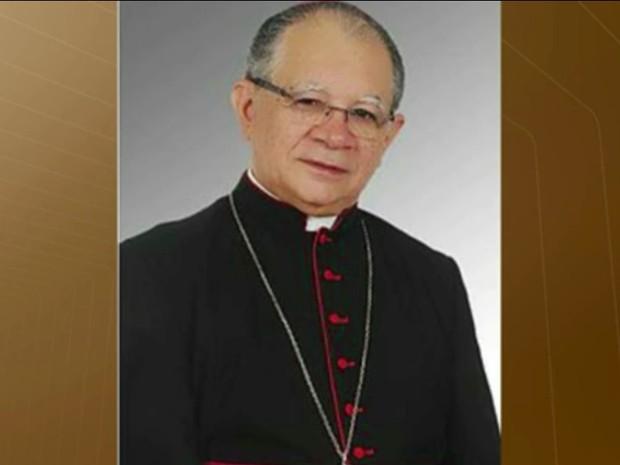 Dom Genival Saraiva de França é o novo administrador da Arquidiocese da Paraíba (Foto: Reprodução/ TV Cabo Branco)