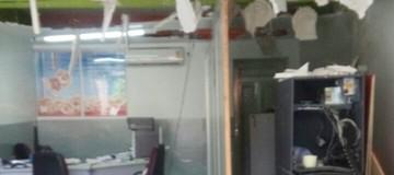 Caixa eletrônico é explodido em Arara (Silvia Torres/TV Cabo Branco)